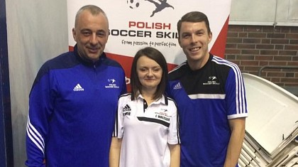 Kamil Smoliński na Szkoleniu Soccer Skills Pro Coach