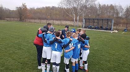 Grupa 2008/09 A wygrała z Pogonią Grodzisk 4-3.